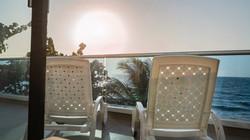 Balcón con vista al mar Camino Palmero Coveñas