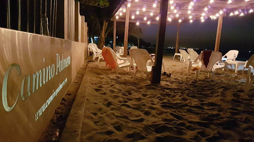 Noches frente a nuestra playa