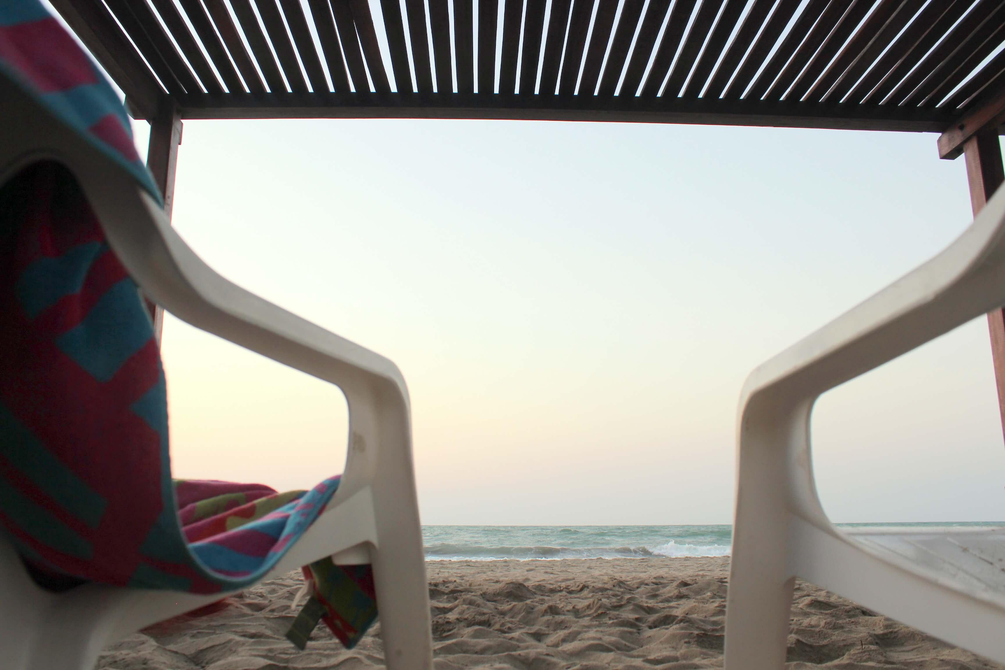 Relax frente al mar