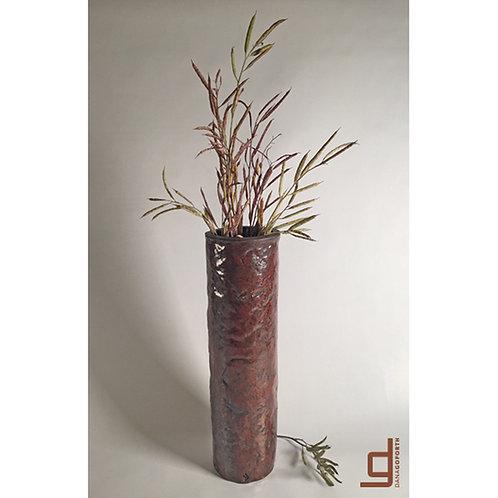 Deep Mahogany Vase