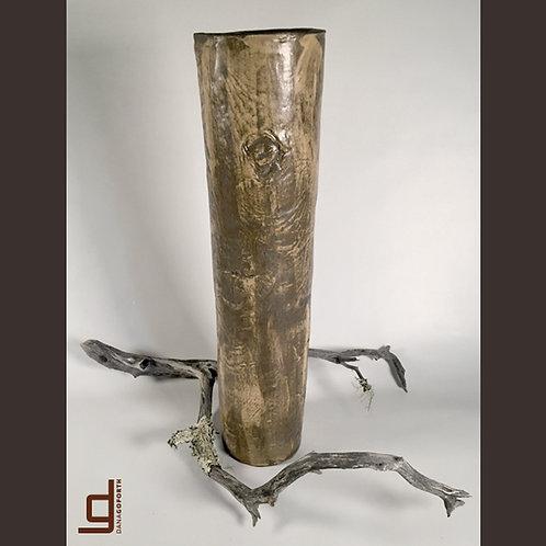 Pale Dijon Vase