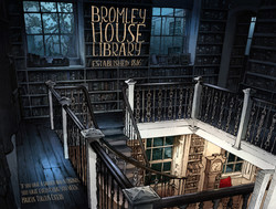 Moonlit Bookcases Smll
