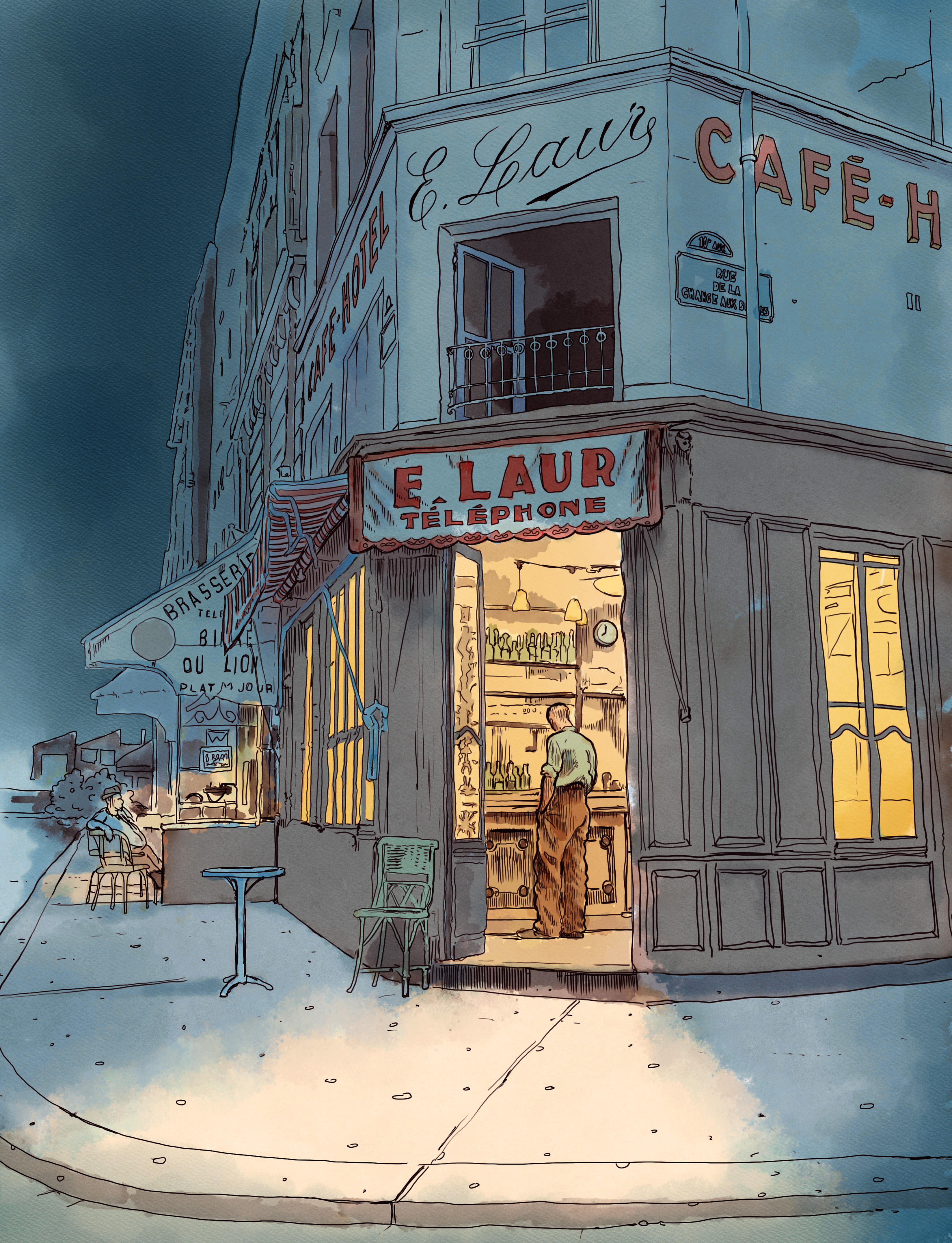 E Laur Cafe