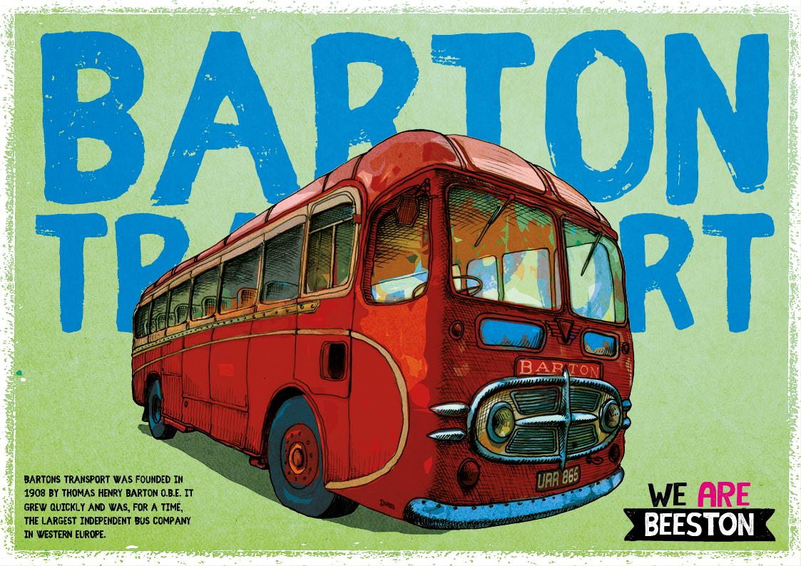 Bartons Poster