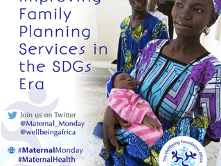 Improving Family Planning Services in the SDGs Era