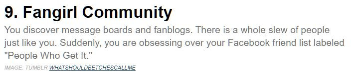 Mashable.com Fangirl Test