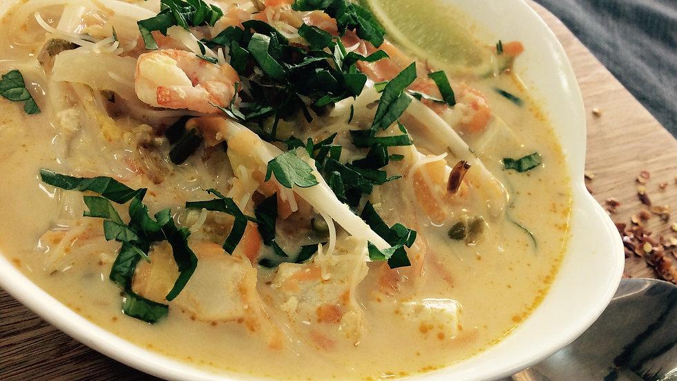 Soupe-repas asiatique - familial