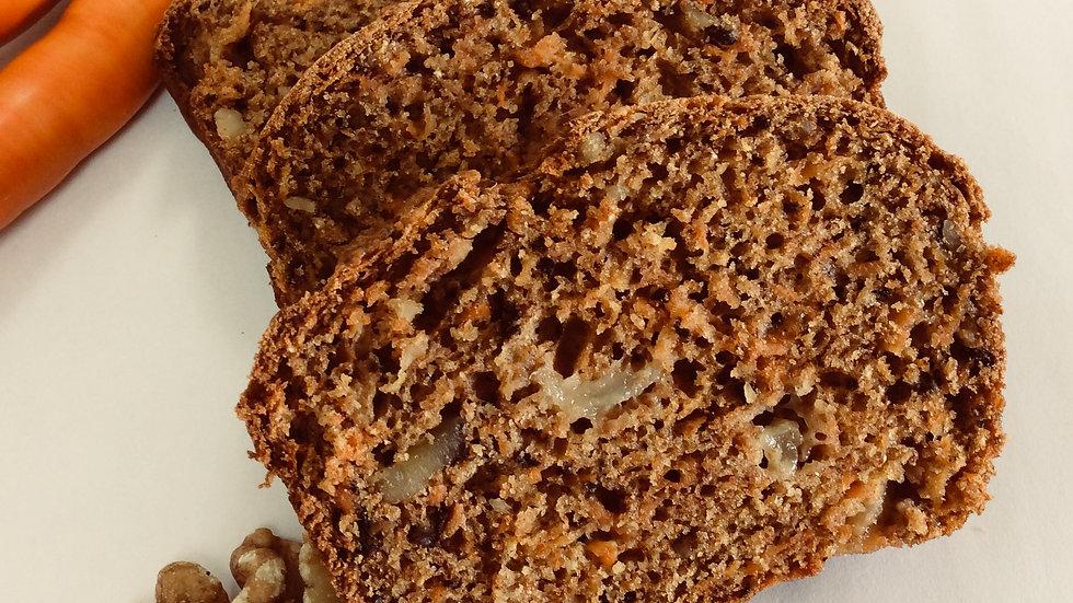 Gâteau aux carottes et aux poires - individuel