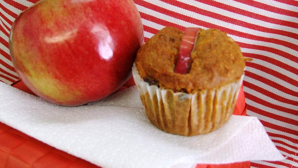 Muffins carotte et pomme - familial