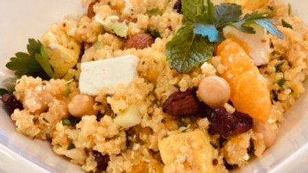 Salade tiède de quinoa - familial