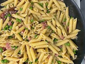 Pasta, Peas, and Prosciutto Recipe