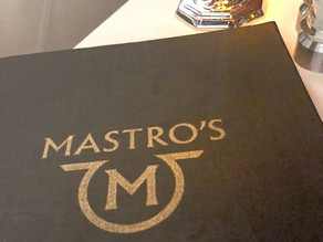 Mastro's Review