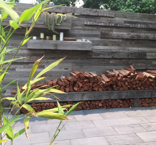 Recycled Timber Screen