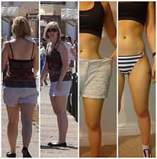 kim shillington before and after my fitness coach steven gardner