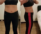 lisa moore before and after my fitness coach steven gardner