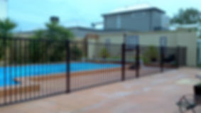 Aluminium Flat Top Fence