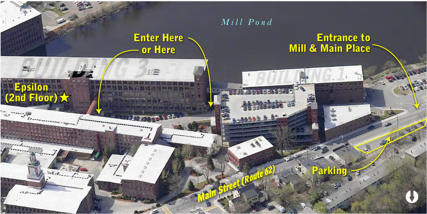 Directions from Epsilon Parking Area