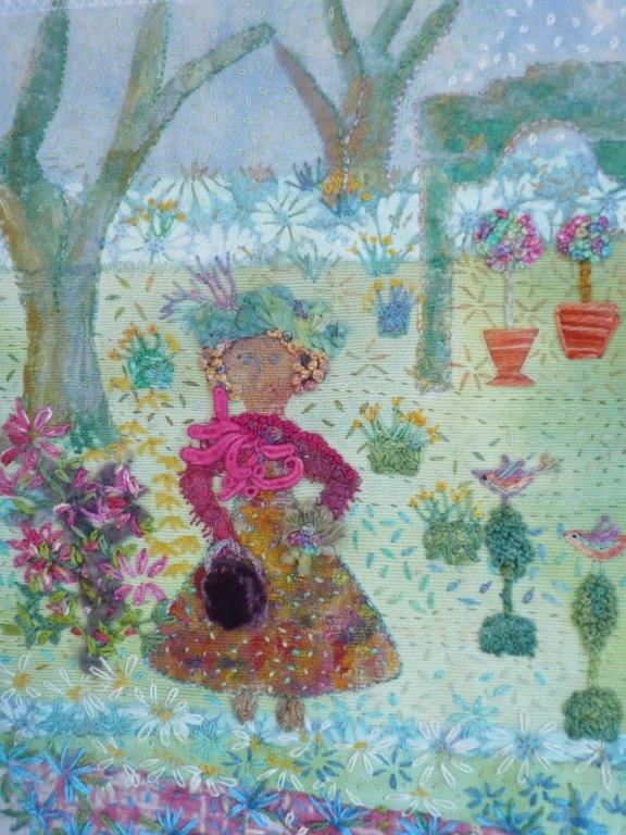 Miss Willmott in Her Garden
