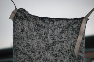 GHIACCIO waterproof wool acrylic polyester