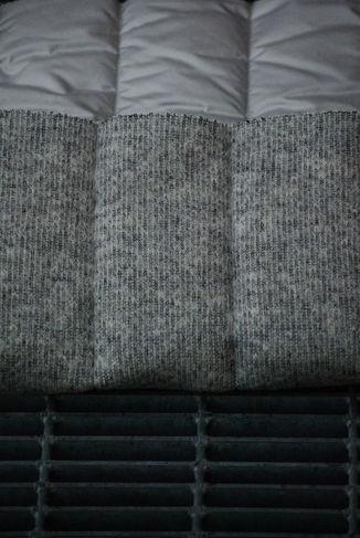 RAIN rainproof nylon with wool and wadding