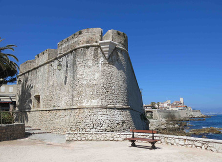 The charm of Antibes' ramparts