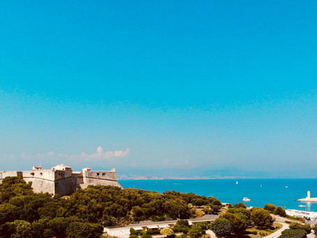 """A visit to """"Fort Carré"""" in Antibes"""