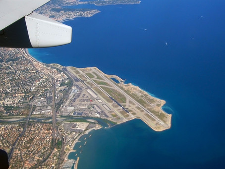 It's easy to get to Antibes!