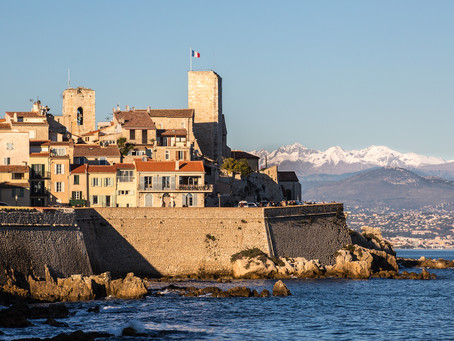 Make the most of Antibes' mild climate!