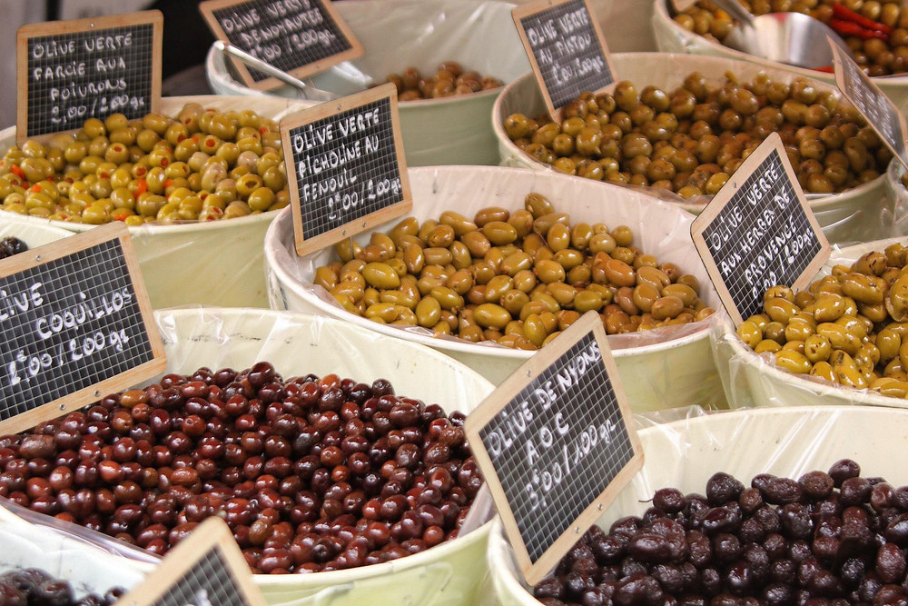 Olives pissaladière Antibes