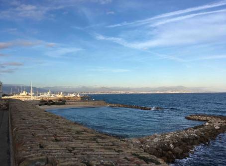 """La Gravette"" beach - Antibes"