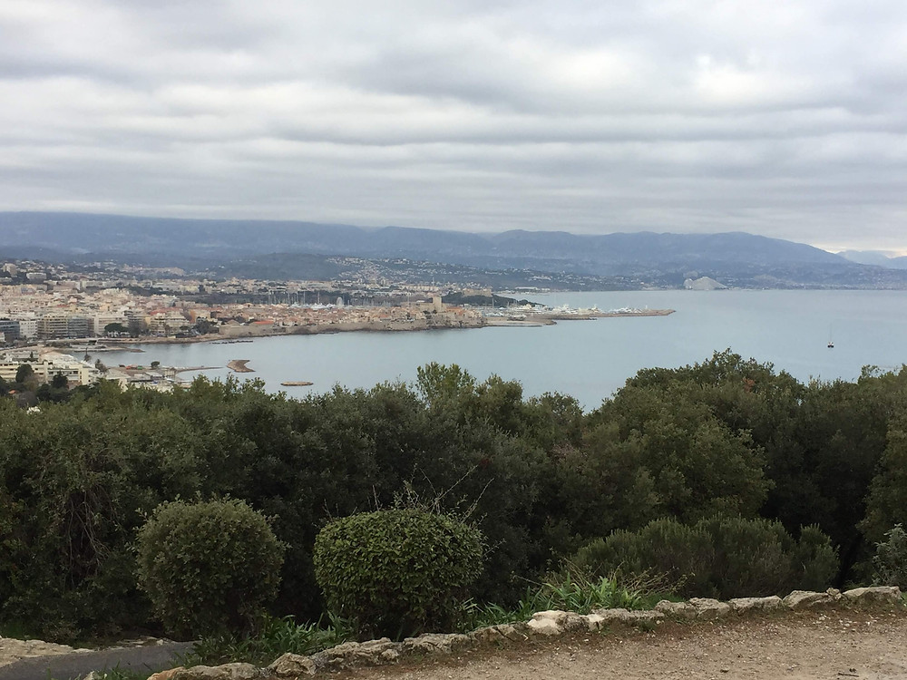 View from Garoupe lighthouse - Antibes