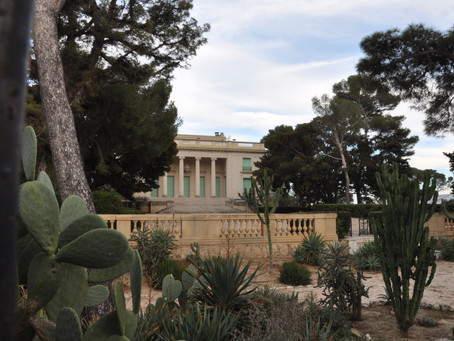 Around Villa Eilenroc in Cap d'Antibes…