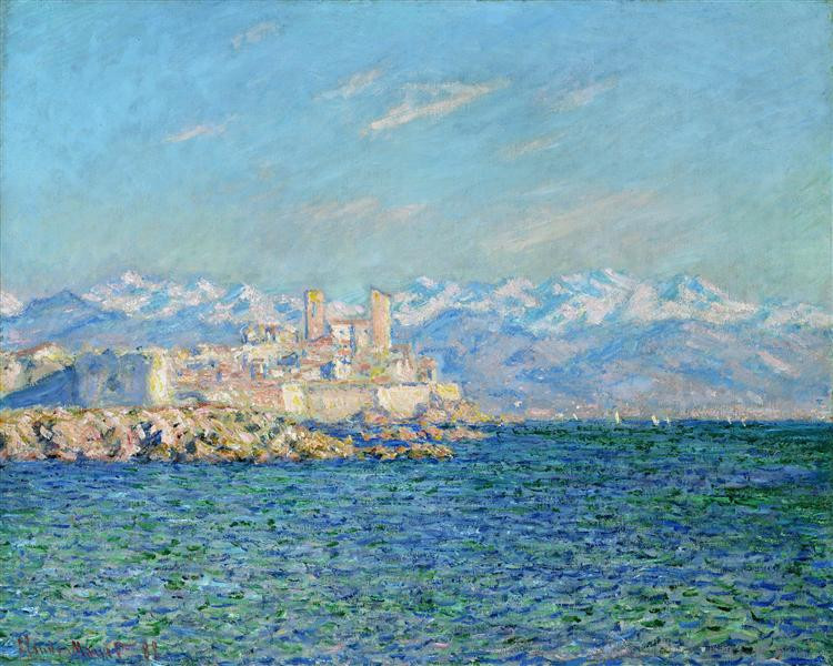 Monet, Antibes Afternoon Effect