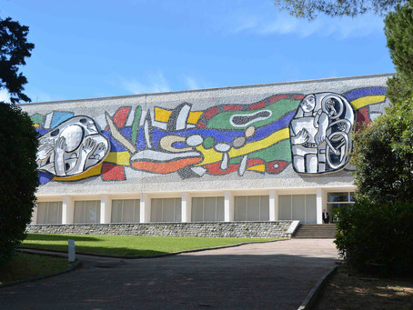 Fernand Léger Museum on the outskirts of Antibes
