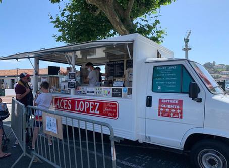 St-Jean-de-Luz: why not enjoy an ice cream?