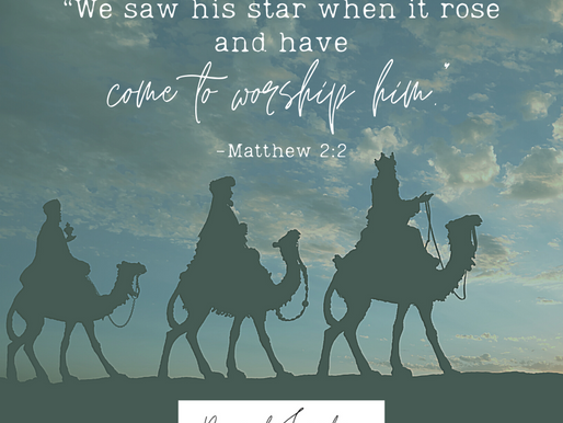 """Day 9: """"We saw his star when it rose and have come to worship him,"""""""