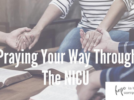 A Support Group to Help You Pray Your Way Through the NICU