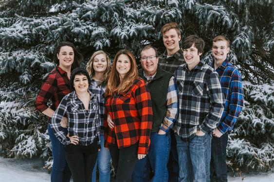 best winter family photographer willmar