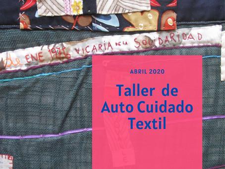 Talleres de Auto Cuidado Textil y Arte Comunitario