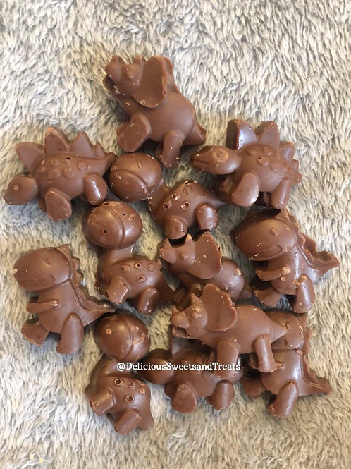 Dino Chocolate Pouch