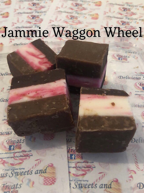 Jammie Wagon Wheel Fudge