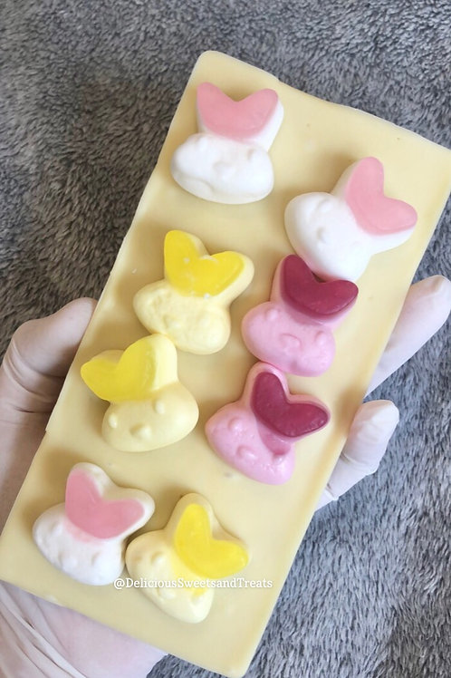 Jelly Rabbits Loaded Chocolate Bar