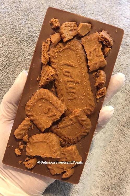 Biscoff Loaded Chocolate Bar