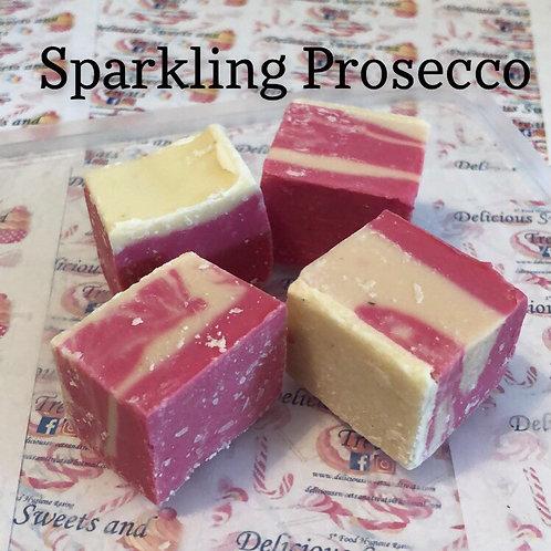 Sparkling Prosecco Fudge