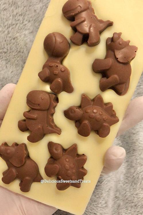 Dinosaur Loaded Chocolate Bar
