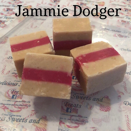 Jammie Dodger Fudge