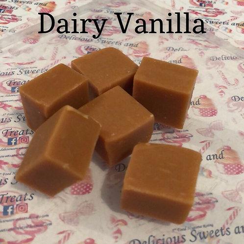 Dairy Vanilla Fudge