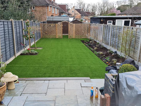 New Artificial Grass In Watford