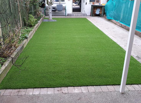 New Artificial Grass For Finchley Home