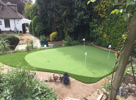 Perfectly Green Artificial Grass Chorleywood